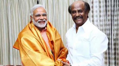 Rajini and Modi