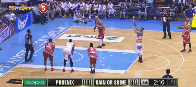 Phoenix def. Rain or Shine, 105-94 (REPLAY VIDEO) September 21