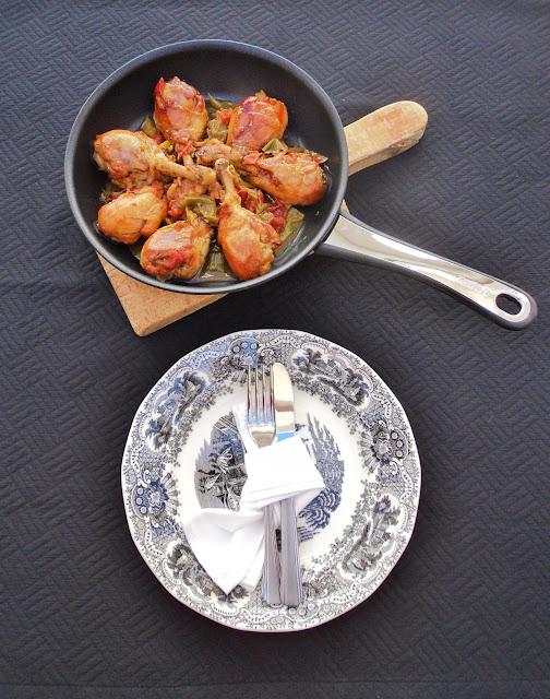 pollo-encebollado-sarten