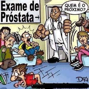 exame de prostata pegadinha