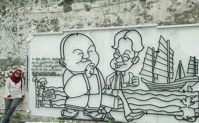 Street art di Penang