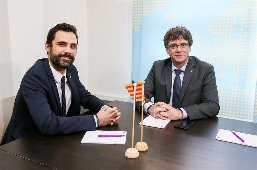 Gobierno español obstruye reunión de Puigdemont en Bruselas