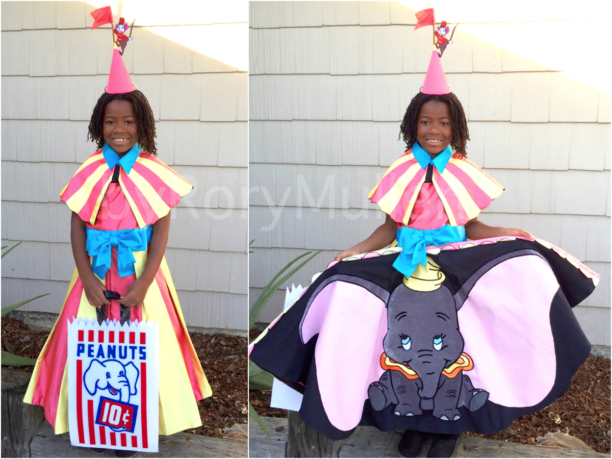 homemade disney's dumbo halloween costume | rory mullen