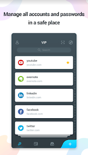 VIP Password Manager Apk screen 3, Best Free App For Password Management,