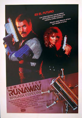 Runaway, brigada especial, Tom Selleck, Michael Crichton