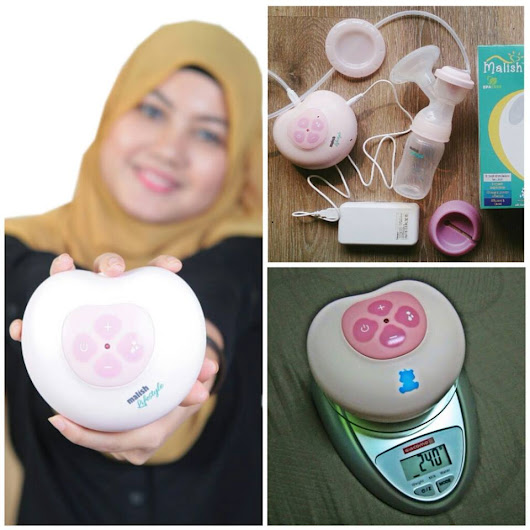 "Breast Pump Malish Lifestyle ""PINKY"" Single Auto NEW SET with FREE GIFT"