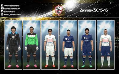PES 2016 Zamalek SC FULL GDB 15-16 by By A 7 M E D SB