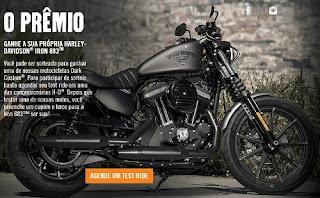 Promoção Harley-Davidson 2016 Test-Ride