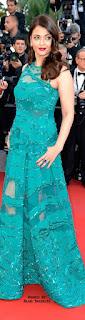 Aishwarya Rai In Green Dress