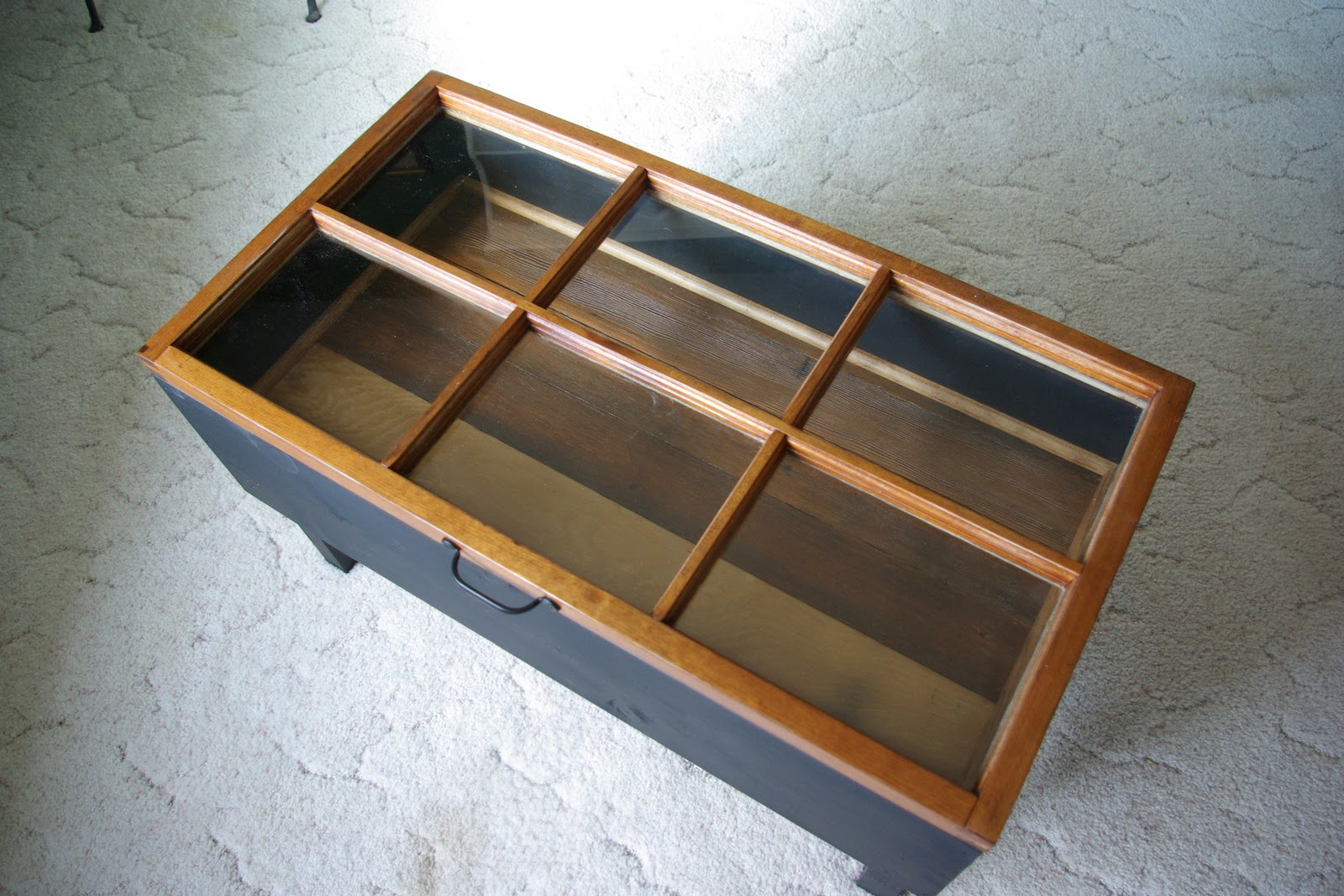 Reclaimed Rustics Hinged Window Coffee Table