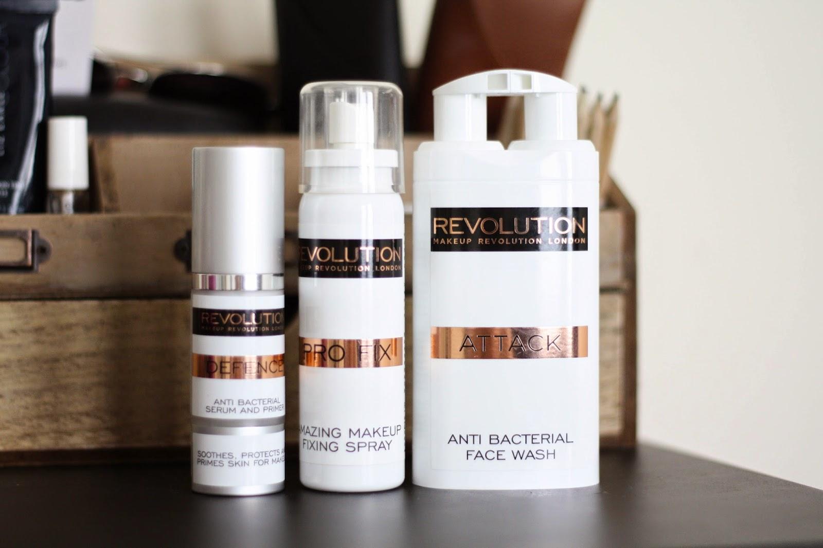 Makeup Revolution skincare review