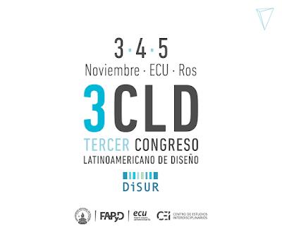 3CLD · 3, 4 y 5 de noviembre · ECU, Rosario