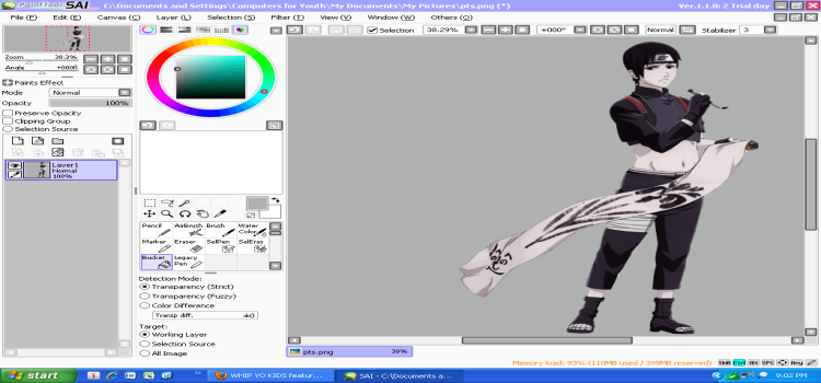 crack paint tool sai full version