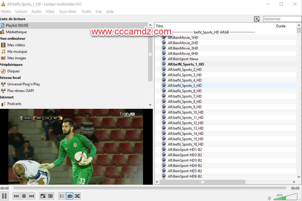 IPTV CCcamDz beIN Osn AD Sport Taquilla Primafila Sky 04/10