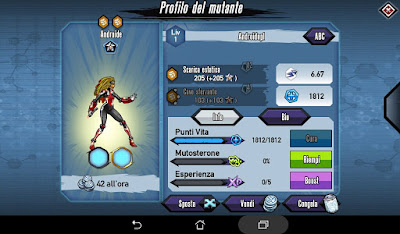 Mutants: Genetic Gladiators video N°357 Fusion Android - Fusione Androide