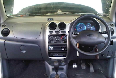 Interior Chevrolet Spark 800cc