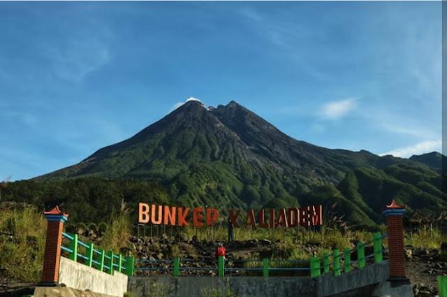 Pesona Mistis Bungker Kaliadem Gunung Merapi Yogyakarta, harga tiket masuk Bungker Kaliadem, rute perjalanan ke Bungker Kaliadem