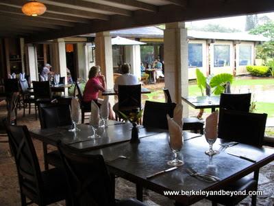 Gaylord's restaurant at Kilohana Plantation in Lihue, Kauai, Hawaii