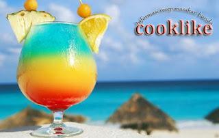 Resep Minuman Blue Ocean Soda