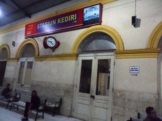 Stasiun Kediri, Kampung Inggris Sudah Dekat