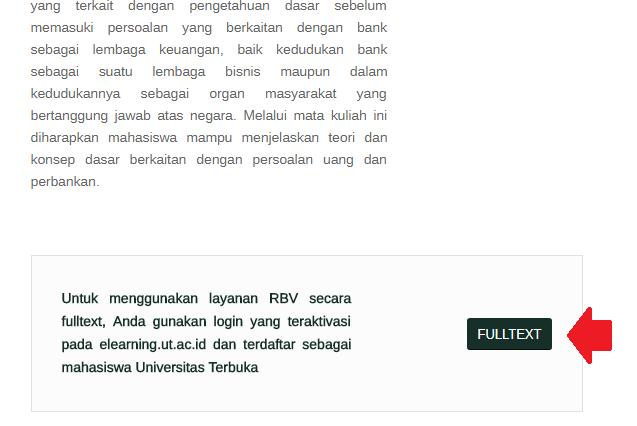 Cara Menggunakan Perpustakaan Digital Universitas Terbuka (UT) 8