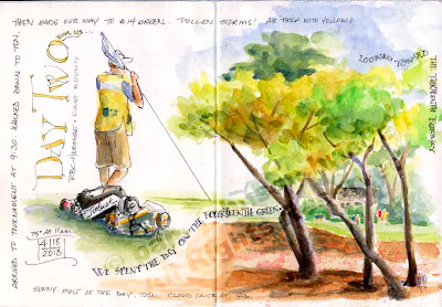 golf event illustration