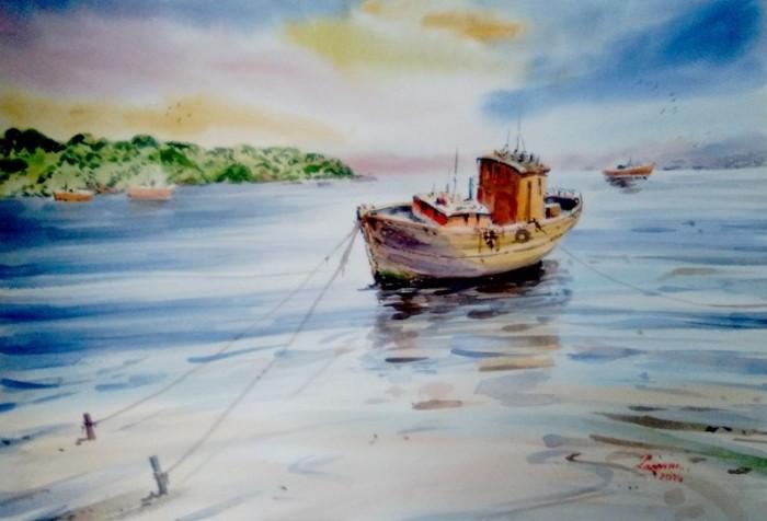 Чилийский художник. Jorge Zamora Navarro