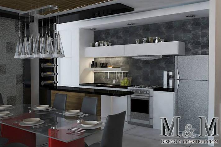 Constructora M&M diseño y construcción : Interiores