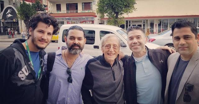 Carlos Alberto Mendez, Carlos Barba Salva Enrique Pineda Barnet, Jose (sobrino de Enrique) y Abel Álvarez.