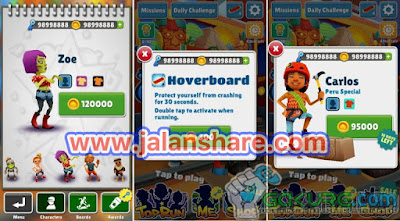 Download Game Subway Surfers Mod Apk Full Version Terbaru
