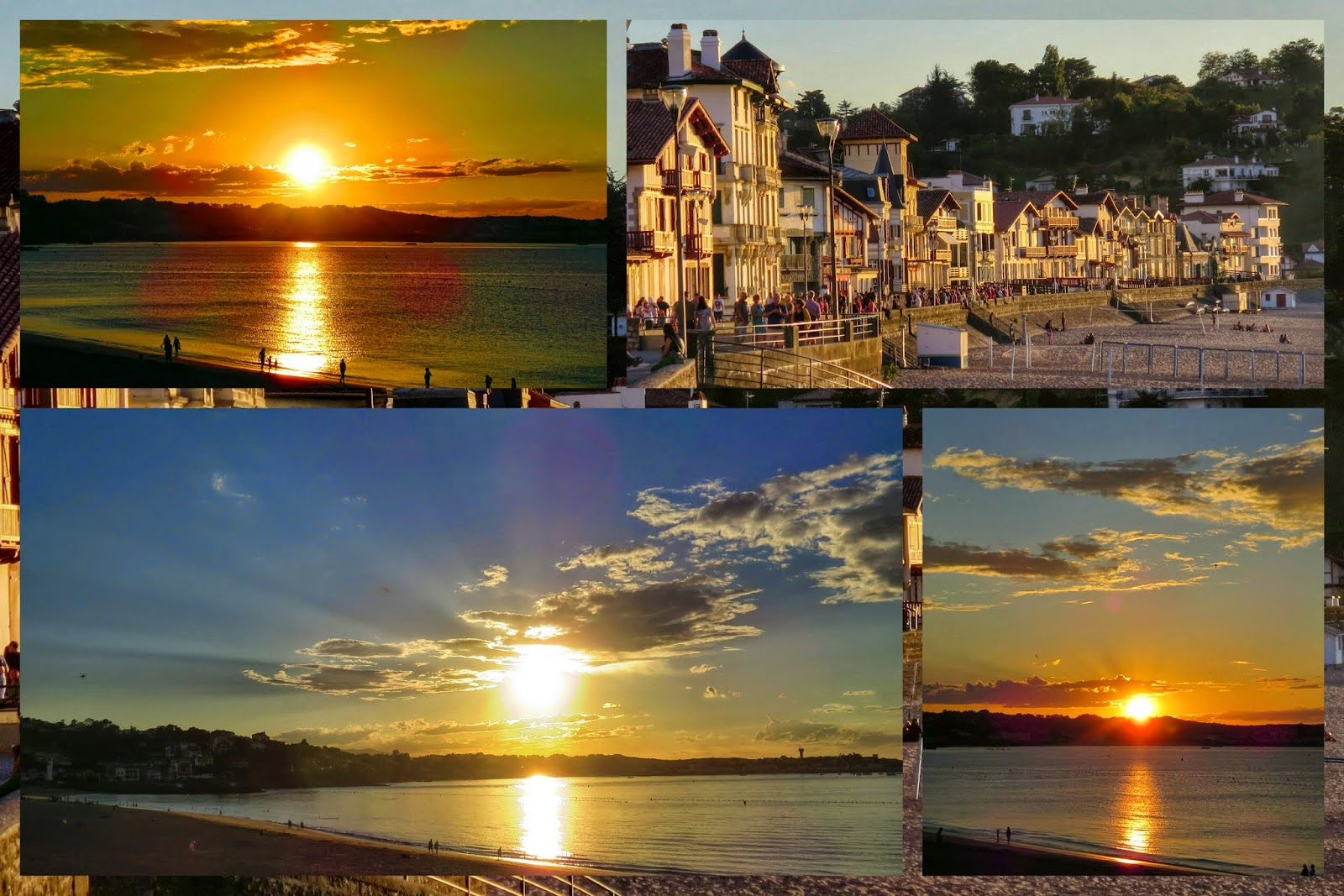 A Weekend in French Basque Country - Sunsets - St. Jean de Luz