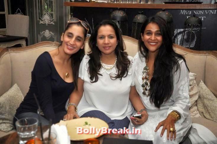 Farah Khan Ali, Karuna Dhawan and Sheena Sippy, BeSpoke Vintage Launch Pics
