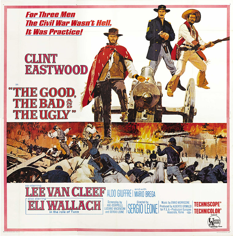 Lee Van Cleef in the Movie: The Good, The Bad and the Ugly