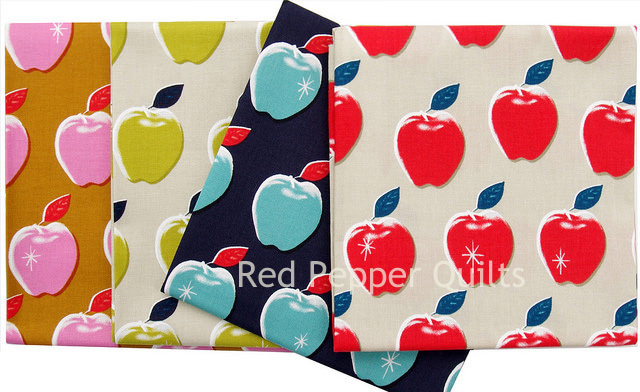Picnic by Melody Miller ~ Apples | Red Pepper Quilts