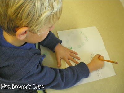 No prep, simple Christmas card making for children