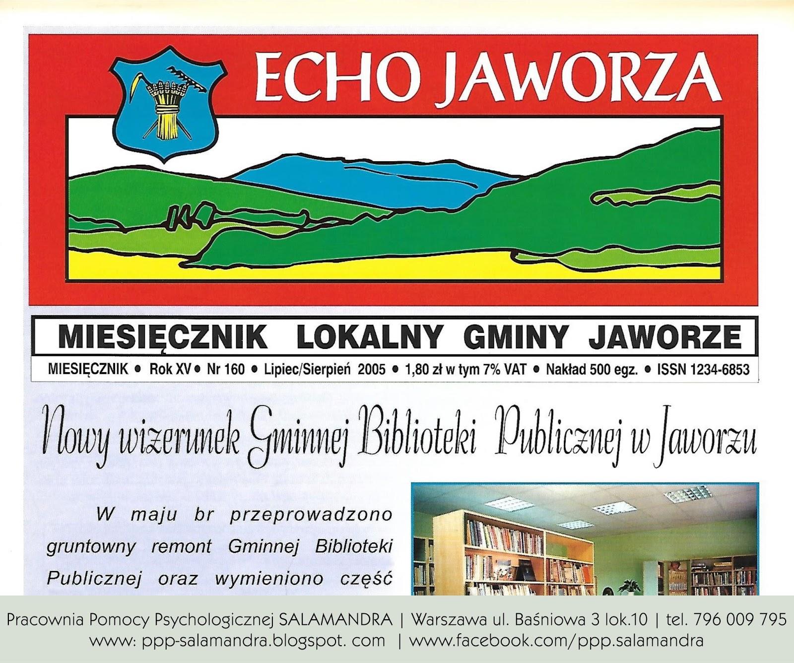 Dobry psycholog Warszawa i Echo Jaworza