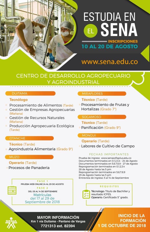 Centro de Desarrollo Agropecuario y Agroindustrial CEDEAGRO - SENA ...