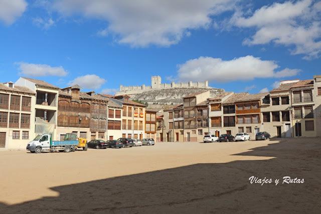 Plaza del Coso de Peñafiel, Valladolid