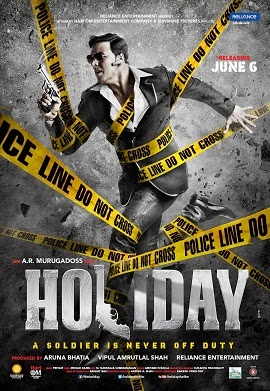 2014 Bollywood movie Holiday Poster