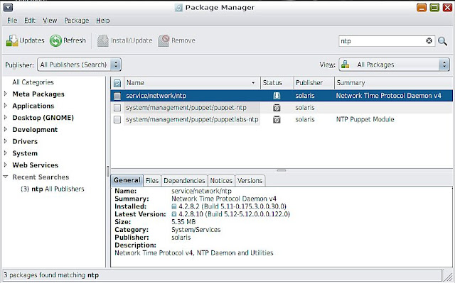 Supratim Sanyal's Blog: Solaris 11 NTP v4 Network Time Synchronization server and client daemon