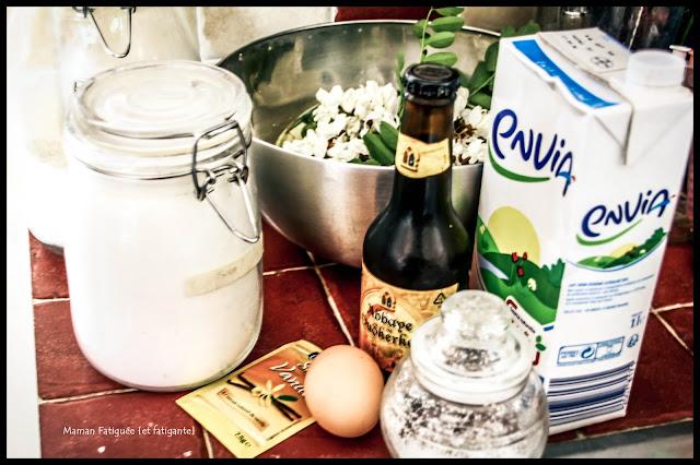 ingredients beignet fleur acacia