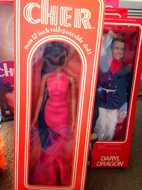 Because I just can't get enough of the Mego Cher doll...