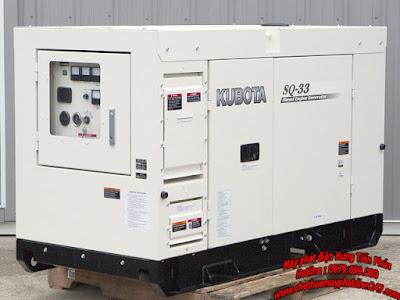 Máy phát điện Kubota SQ-33