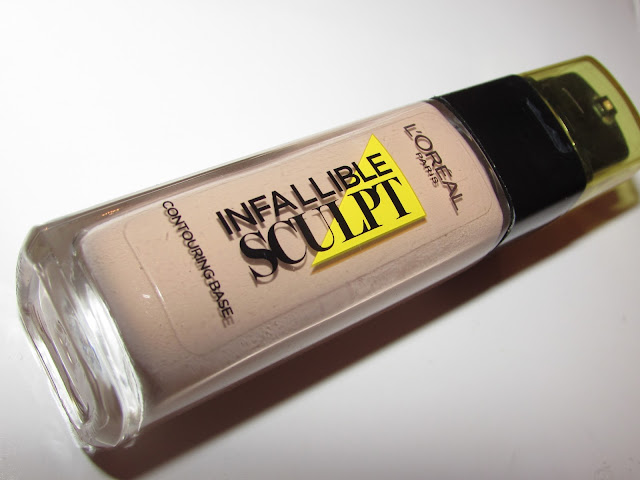 L'Oreal Infallible Sculpt Base Foundation Review & Swatches