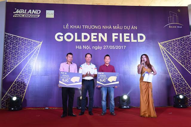 khai trương căn hộ mẫu golden field