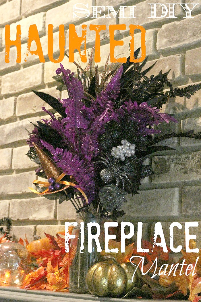 If decorating your home seems too expensive or like too much work, check out this semi-DIY method! It saves money and time so your home can be seasonally decorated easily #fall #Halloween #seasonaldecor #homedecor