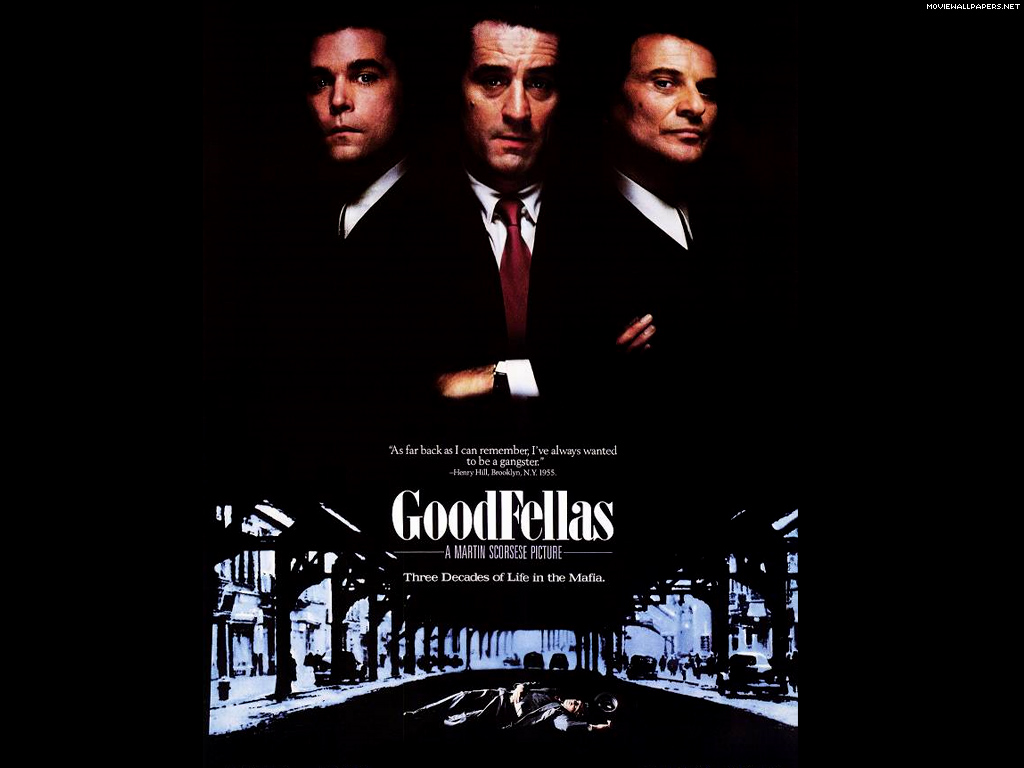 Wallpapers Photo Art: Goodfellas Wallpaper, Movie Wallpaper