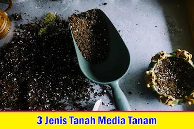 3 Jenis Tanah Untuk Media Tanam