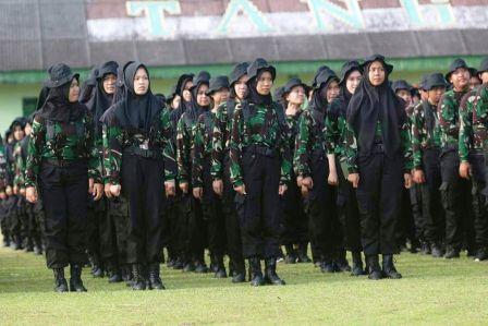 1.939 Mahasiswa Politeknik Negeri Sriwijaya Ikuti Diksarlin di Rindam II Sriwijaya