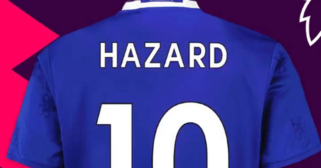 finest selection 40794 3b69a Discount All-New 2017-18 Premier League Kit Numbers Font ...